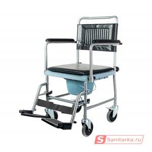 Кресло - каталка с санитарным оснащением 5019W2P
