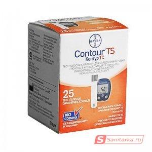 Тест-полоски Контур ТС №25