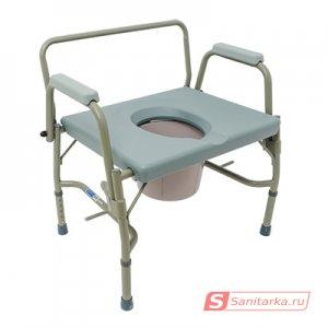 Кресло-туалет 10582 повышенной грузоподъемности