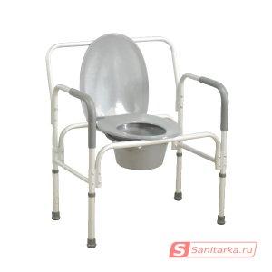 Кресло-стул с санитарным оснащением повышенной грузоподъемности  HMP 7007 L