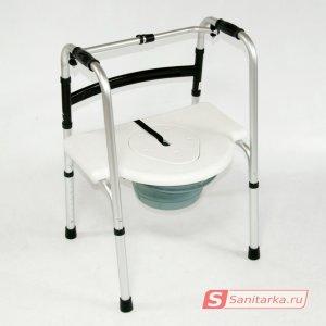 Сиденье с крышкой с санитарным оснащением для ходунков 935 BS