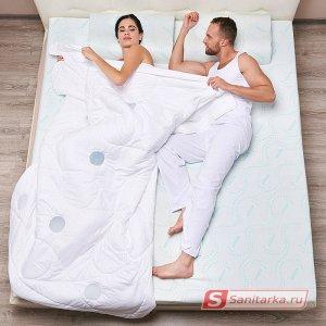 Стеганое одеяло с терморегулирующими вставками TRELAX Thermo Control (полуторное, 140х205 см)